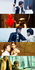 Han & Leia in time (Pato Berroeta) Tags: star princess action solo wars figuras figures han leia accion organa
