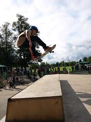P9180159 (Jordan La Roche) Tags: new bmx skatepark skateboard inline horsham backflip 2011