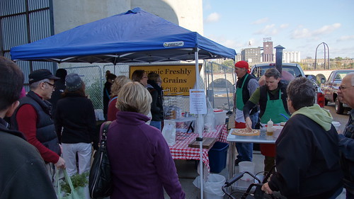 Mill City Farmers Market on October 15, 2011 - Uncurated Footage