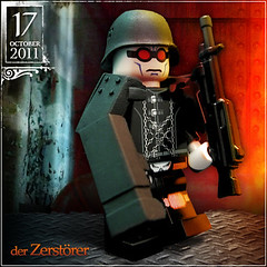 October 17 - der Zerstrer (Morgan190) Tags: white halloween soldier scary october advent calendar lego zombie ghost nazi creepy batman minifig minifigs custom occult ghoul m19 minifigure mrfreeze 2011 zerstrer zerstorer brickarms morgan19 morgan190 amazingarmory