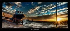 Catalpa HDR_1 (poochphotos) Tags: ireland sunset david pier boat fishing jd porter hdr buncrana codonegal wwwmoodlightphotographycom httpsfacebookcommoodlightphoto