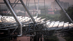 ... (Dawn D) Tags: solar energy delhi leed platinum array renewable heliostat