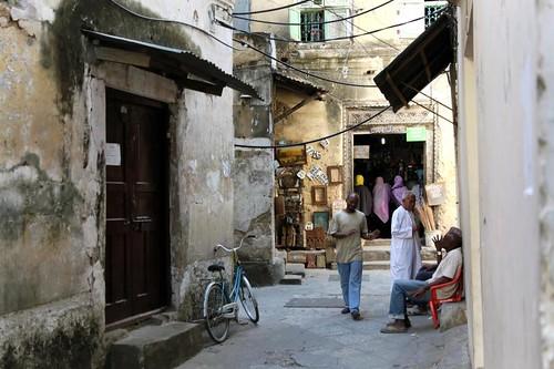 Zanzibar Stone Town Street Scene