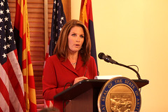 Michele Bachmann (Gage Skidmore) Tags: arizona phoenix russell trent illegal conference michele bachmann press pearce immigration franks