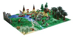 Indian Village (Matija Grguric) Tags: cowboys village lego creation western indians wildwest diorama nativeamericans wigwam moc matijagrguric