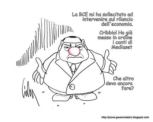 La BCE sollecita il rilancio dell'economia by Livio Bonino