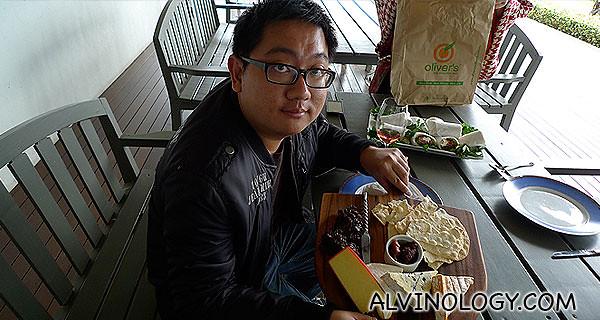 Alvin loves cheese