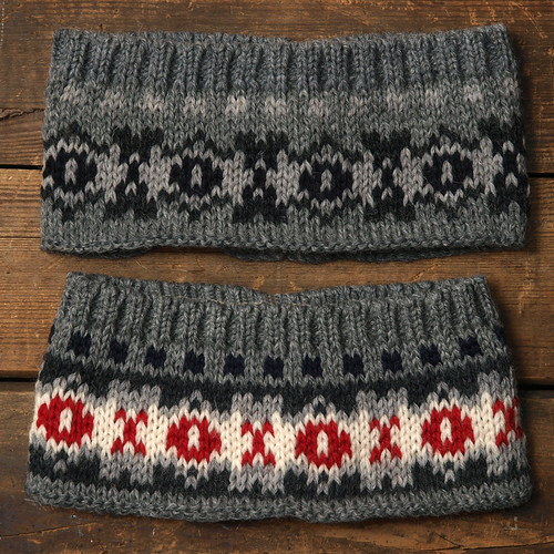 Stuart Austin / Fairisle Head Band