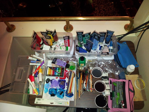 My mobile studio at PopTech