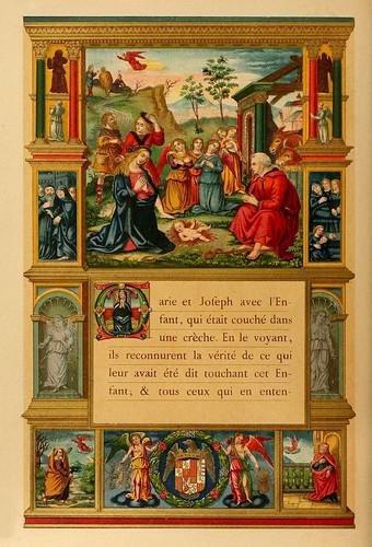 009-El santo dia de Navidad-Evangelio pagina 2-Les évangiles des dimanches et fêtes de l'année –Vol 1- 1864- Leon Curmer