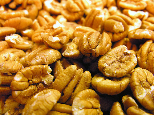 Georgia Pecans. Heart-healthy pecans are the focus of a project in Georgia to help educate health-conscious consumers on the nutritional values of tree nuts.  Photo by Judy Baxter.