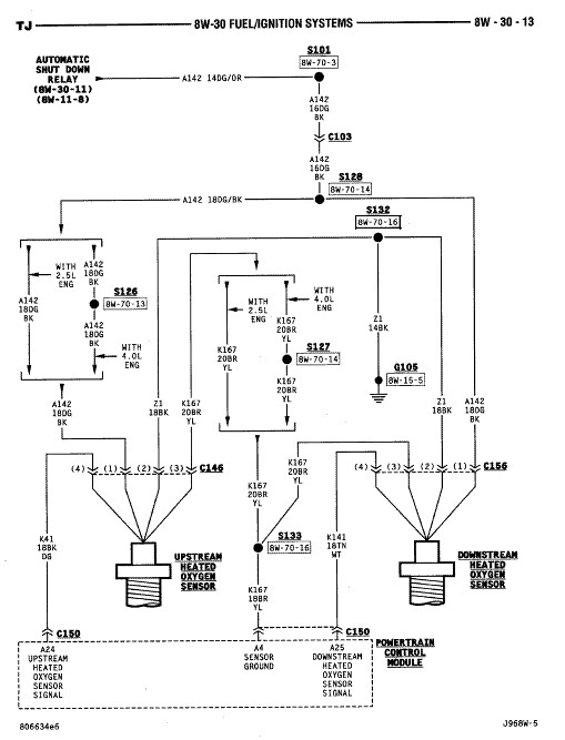 10 Wrangler Pcm Wiring Wiring Diagram Images Database amornsak co: 1997 jeep wrangler wire diagram at sanghur.org