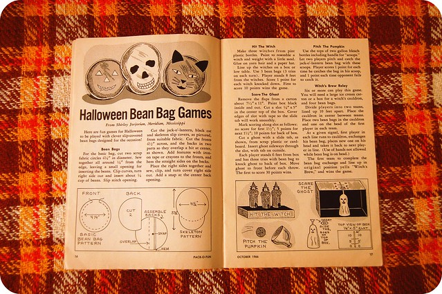 vintage halloween inspiration: pack-o-fun, october 1966.