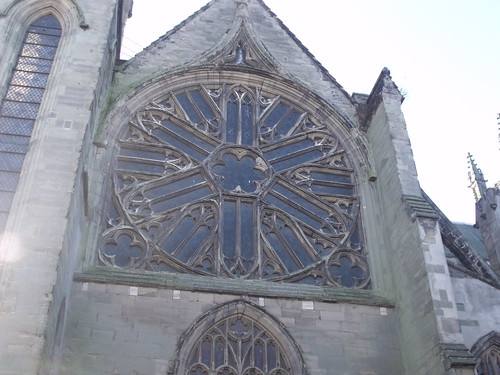 Church of All Saints - Leamington Spa - Rose window