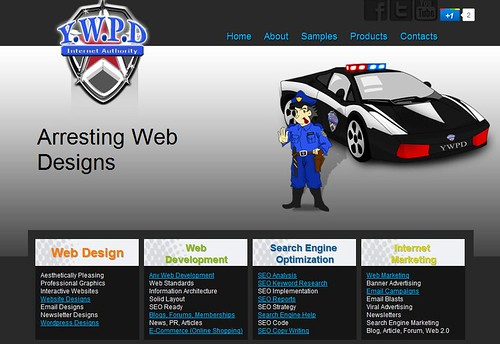 arresting web designs by totemtoeren