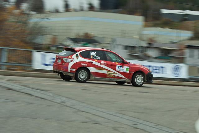 Frank Lognay - Rallye de Charlevoix 2011