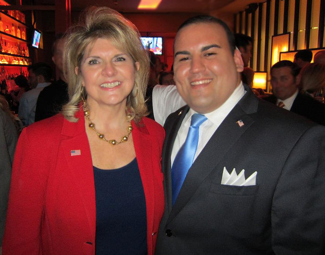 National Republican Co-Chair Sharon Day with Keith Kuder.