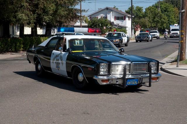 california usa policecar chp ripon californiahighwaypatrol sanjoaquincounty 1977dodgemonaco riponmenloparkemergencyvehicleshow2011