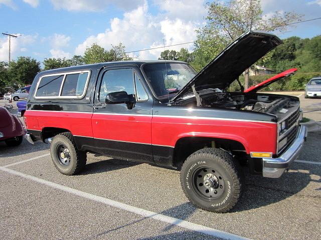 4x4 chevy suv blazer 1990 cruisenight glenburniemd lostinthe50s marleystationmall