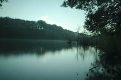 Lakeside with the welding glass (Cowmageddon) Tags: longexposure lake lakeside newmillerdam weldingglass