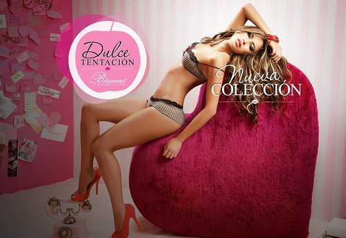 Catalina Otalvaro Dulce Tentaction Besame Lingerie Photoshoot pics