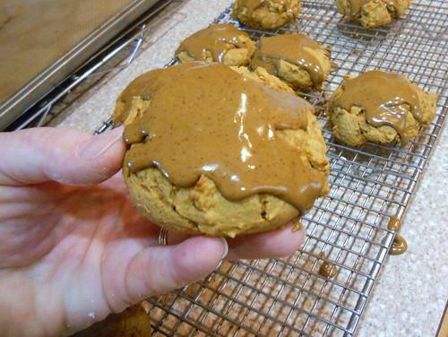 pumpkin spice cookies 056