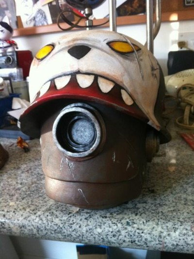 Luke Chueh Custom Bot Head