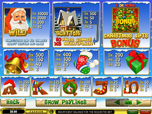 free Santa Surprise slot mini symbol