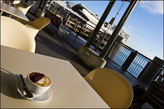 Coffe at the Ferry Building