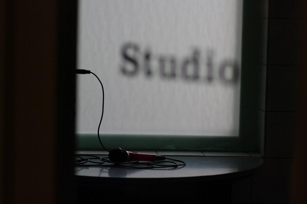 Studio microphone, Theater De Regentes