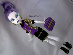 Spectra's all business (Nataloons) Tags: school fashion monster club high doll business pack spectra mattel entrepreneurs clawdeen monsterhigh vondergeist spectravondergeist