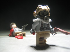 The weak... (Da-Puma) Tags: world three blood war post lego german prototype gore proto apoc brickarms