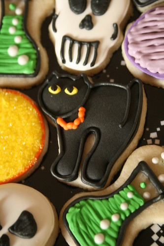Mini Black Cat Cookie.