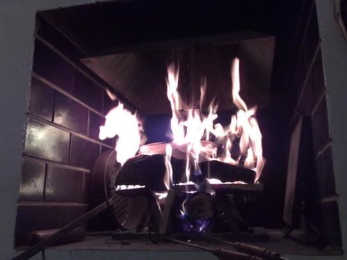 Primo fuoco d'autunno by durishti
