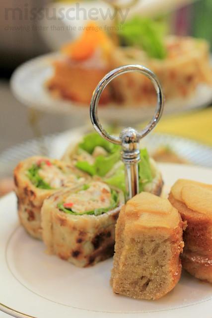 Crab Salad Arteastiq Crispy Wrap & Arteastiq Famous Apple Cake