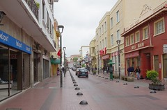 Downtown La Serena (Dbennison) Tags: ocean chile trip travel november cold beach wet water america fun la pentax south adventure backpacking rainy da serena sa k5 laserena 2011 1650m