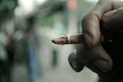 Memory of Last Puff (tratul) Tags: red dead fire nikon habit cigarette bad smoking ratul d3000 tratul