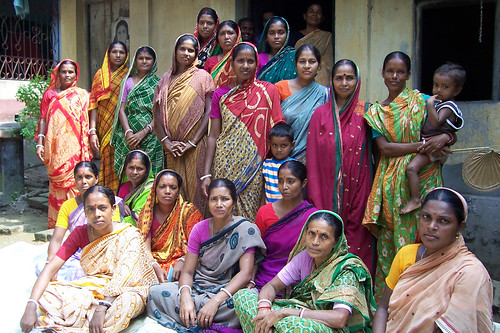 Women in Bangladesh. Photo by WorldFish, 2004