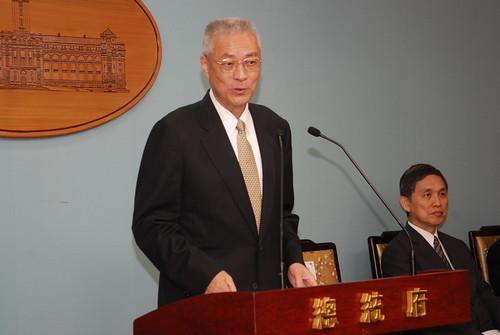 行政院長吳敦義。(本報資料照)