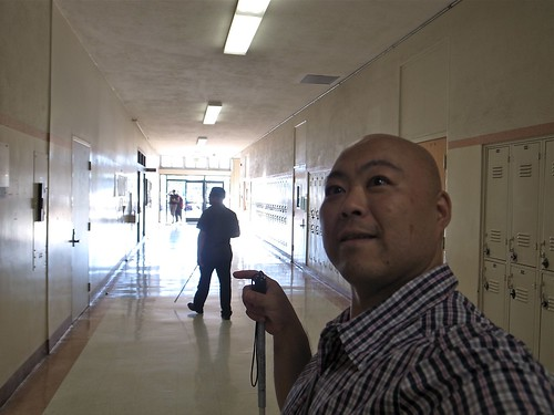 A Hallway selftake at Long Beach City College