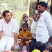 Rahul Gandhi in village chaupal, Sant Ravidas Nagar (14)