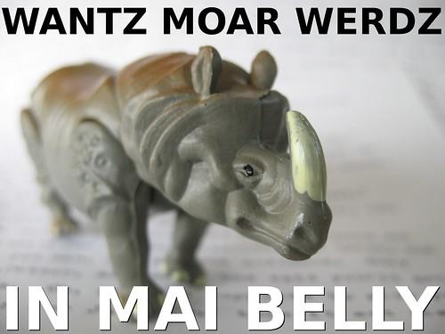 Nano Rhino Werdz