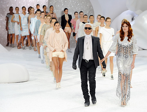 chanel rtw 2012 fashion show with florence + the machine