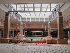 Palms Passed (Ayne Bales Photography) Tags: abandoned fountain mall dead virginia richmond urbex cloverleaf deadmall cloverleafmall cloverleaf10302011