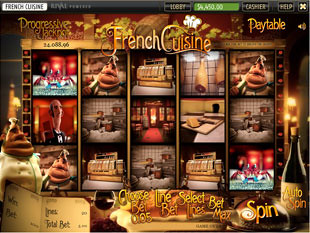 French Cuisine Slot Machine