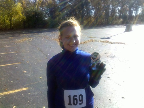 Palos Park Rec Turkey Trot 5K - 2nd in my age group
