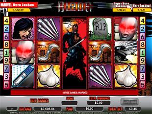 Blade bonus game
