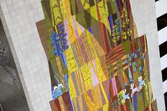 Northside Detail (Sam Howzit) Tags: southwest art tile design 1971 mural florida indian disney 1970s waltdisneyworld 4thfloor fourthfloor contemporaryresort maryblair nativeamerica grandcanyonconcourse