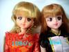 A vintage Takara Barbie and a brand new Takara Jenny (Joey4MaryMagpie) Tags: boyfriend tom doll jenny barbie takara