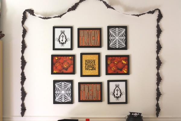 8x10 Halloween Frames